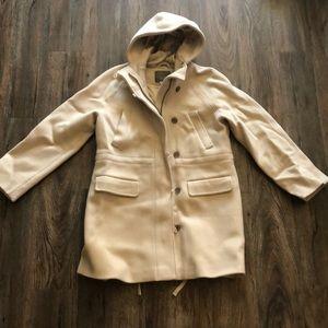 J. Crew Stadium Cloth Coat
